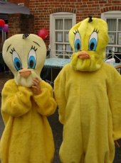 29 - Two of the mascot ducks