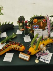 18 - Vegetable Monsters in the Horticultural Show Marquee