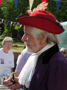The late Alan Wiseman - Heritage Day Town Crier 2009