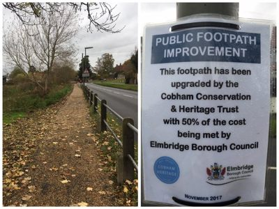 River Footpath Overhaul - November 2017