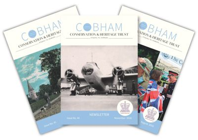 Selection of Cobham Heritage Newsletters