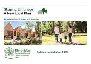Local Plan Options Consultation Aug 2019